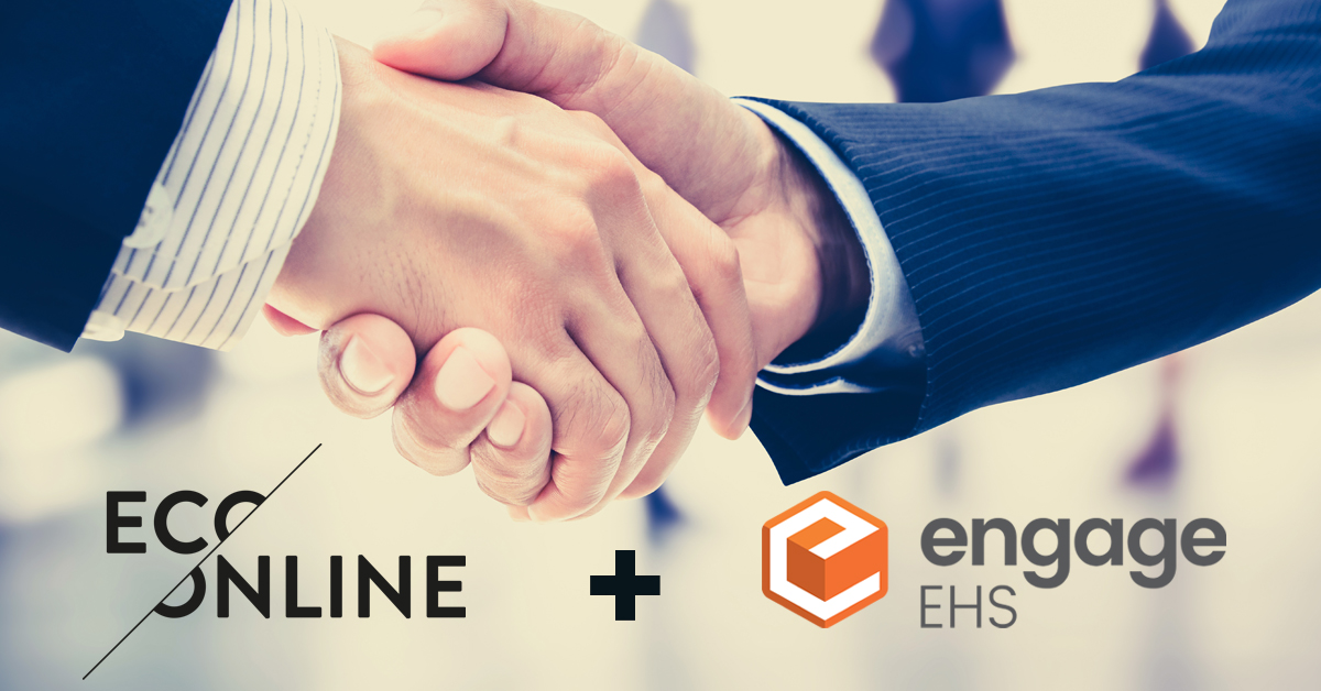 EcoOnline ostaa irlantilaisen Engage EHS:n